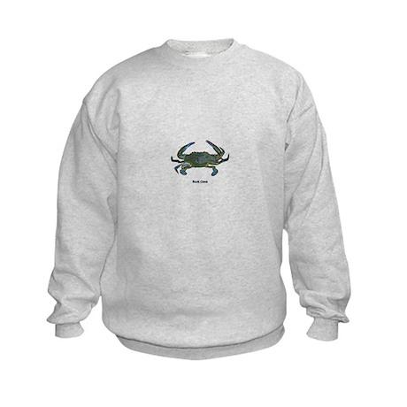 Chesapeake Bay Blue Crabs Kids Sweatshirt