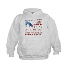 GIRL DEER HUNTER USA Hoodie