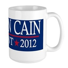 10x3_sticker_herman_cain_04 Coffee Mug