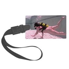 scuba dive bettie one Luggage Tag