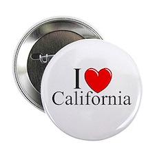 """""""I Love California"""" Button"""