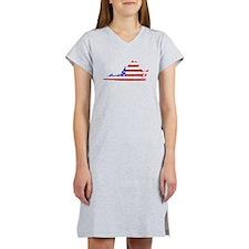 Virginia Flag Women's Nightshirt