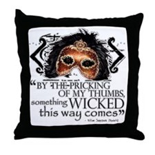 macbeth-blanket Throw Pillow