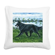 bel shep fence Square Canvas Pillow