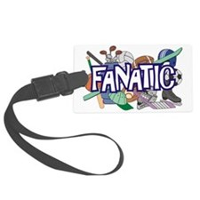 Sports Fanatic Luggage Tag