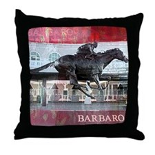 Barbaro 2 Throw Pillow