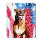 American patriotic magnets Classic Mousepad