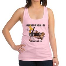 CDR granddaughter ARMY Racerback Tank Top