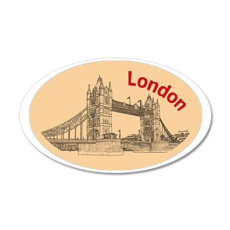 London_4.58x2.91_tmug_TowerB 35x21 Oval Wall Decal