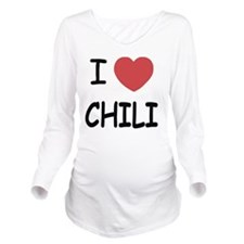 CHILI Long Sleeve Maternity T-Shirt