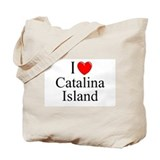 """I Love Catalina Island"" Tote Bag"
