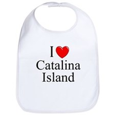 """I Love Catalina Island"" Bib"