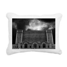 detroitTrainStation Rectangular Canvas Pillow