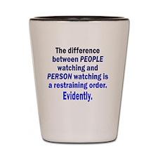 people-watching_rnd1 Shot Glass