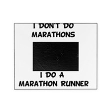 Do Marathon Runner Black Picture Frame