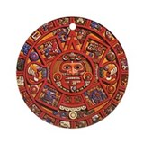 MAYAN CALENDAR Ornament (Round)