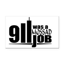 911mossad Rectangle Car Magnet
