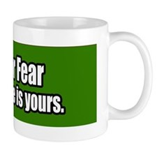 Love-Or-Fear-Bumper-Sticker Mug