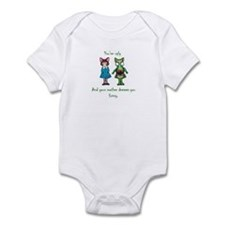 You're Ugly Baby Bodysuit, Multiple Colors