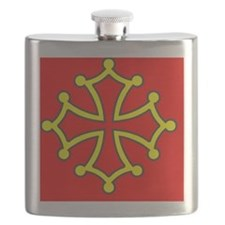 Occitan Sticker Flask