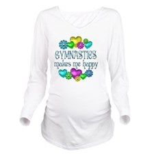 GYM Long Sleeve Maternity T-Shirt