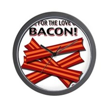 vcb-bacon-2011 Wall Clock