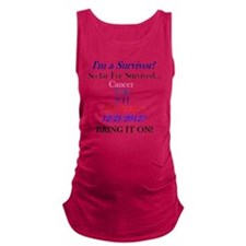 survivorcancer Maternity Tank Top