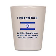 stand_w_israel Shot Glass
