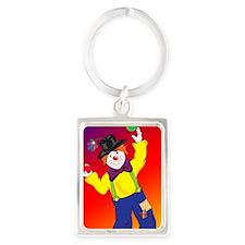 23x35_Clown Poster_4 Portrait Keychain
