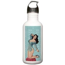 Fathers Day Sexy Woman Water Bottle