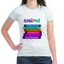 Retired BOOK STACK T