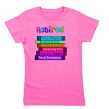Retired BOOK STACK Girl's Tee