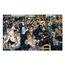 Renoir Le Moulin de la Galette Decal