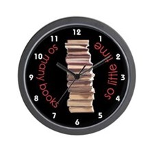 so many books, so little time Wall Clock