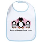 Big Cousin of Twins (Penguin) Bib