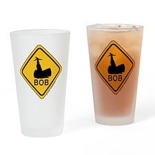 TrafficLightSignC0306 Drinking Glass