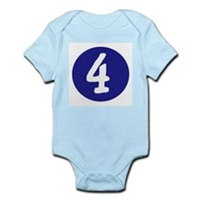 MONTH BY MONTH 4 - Infant Bodysuit