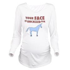 unicron-D3-WhiteAppa Long Sleeve Maternity T-Shirt