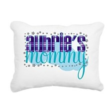 aubries mommy Rectangular Canvas Pillow
