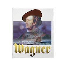 WAGNER DARK Throw Blanket
