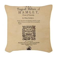 hamlet-1605-poster-Ornament Woven Throw Pillow