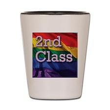 2nd Class Shot Glass