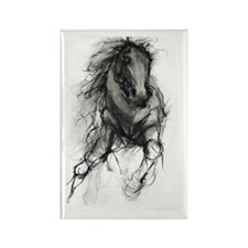 Equine Passion Rectangle Magnet