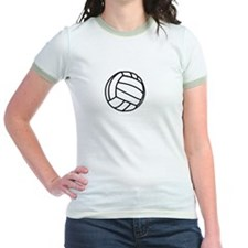 Volleyball Court White T