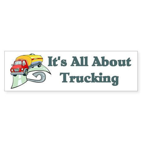 Truck Driver Bumper Sticker