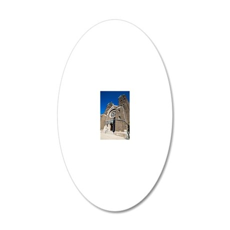 1DS3-4759-NOTECARD 20x12 Oval Wall Decal