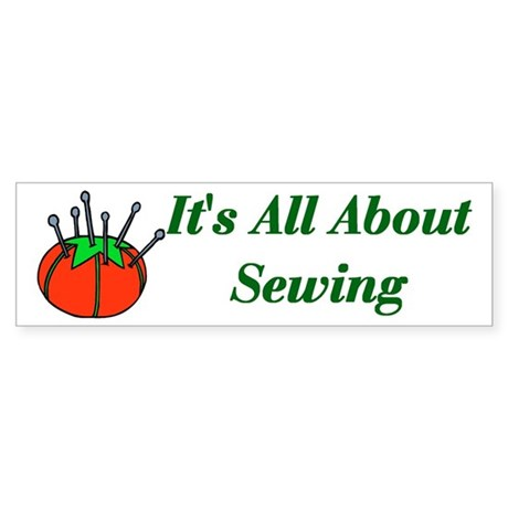 Seamstress Bumper Sticker