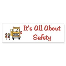 School Bus Driver Bumper Bumper Sticker