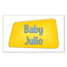 Baby Julio Rectangle Decal