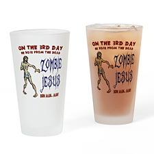 zombie-jesus-LTT Drinking Glass